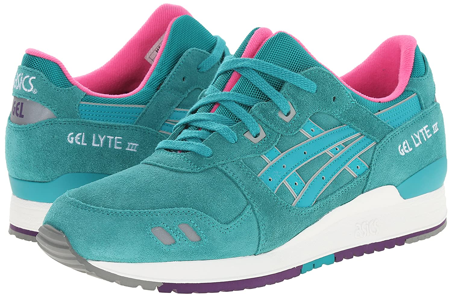 sports shoes 6ced6 77c4d Asics Girl's Gel-Lyte Iii Ankle-High Tennis Shoe