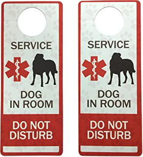 amazon com therapy dog session in progress door hanger home