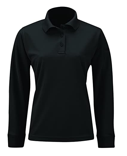 d0aeca230 Amazon.com  Propper Women s Uniform Long Sleeve Polo Shirt  Clothing