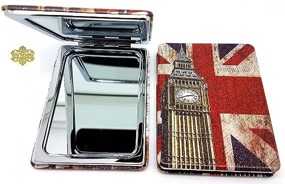Sterling Product London Skyline Miroir de Poche Souvenir de Londres