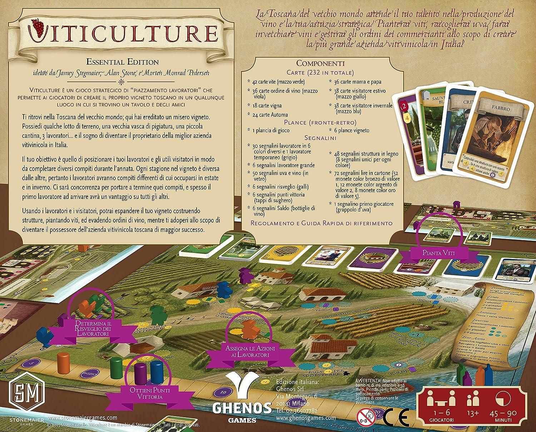 Ghenos Games vtcl Viticulture: Amazon.es: Juguetes y juegos