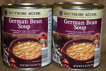 Amazon Com Deutsche Kuche Authentic German Bean Soup Imported