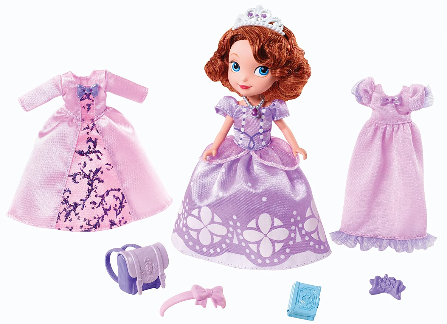 Amazon.com: Mattel Disney Sofia The First Sofia\'s Royal Fashion Doll ...