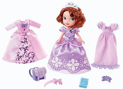 7647fdca6 Amazon.es  Mattel - Muñeca Disney Princesa Sofía + 2 vestidos ...