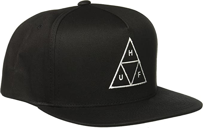 HUF Gorra Triple Triangle - Negro - Ajustable: Amazon.es: Ropa y ...