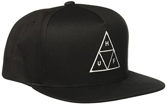 34eb0e77ce749 Amazon.com  HUF Men s Triple Triangle Snapback Hat