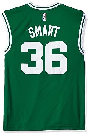 finest selection b2a00 accbe NBA Boston Celtics Marcus Smart #36 Men's Replica Jersey, XX ...