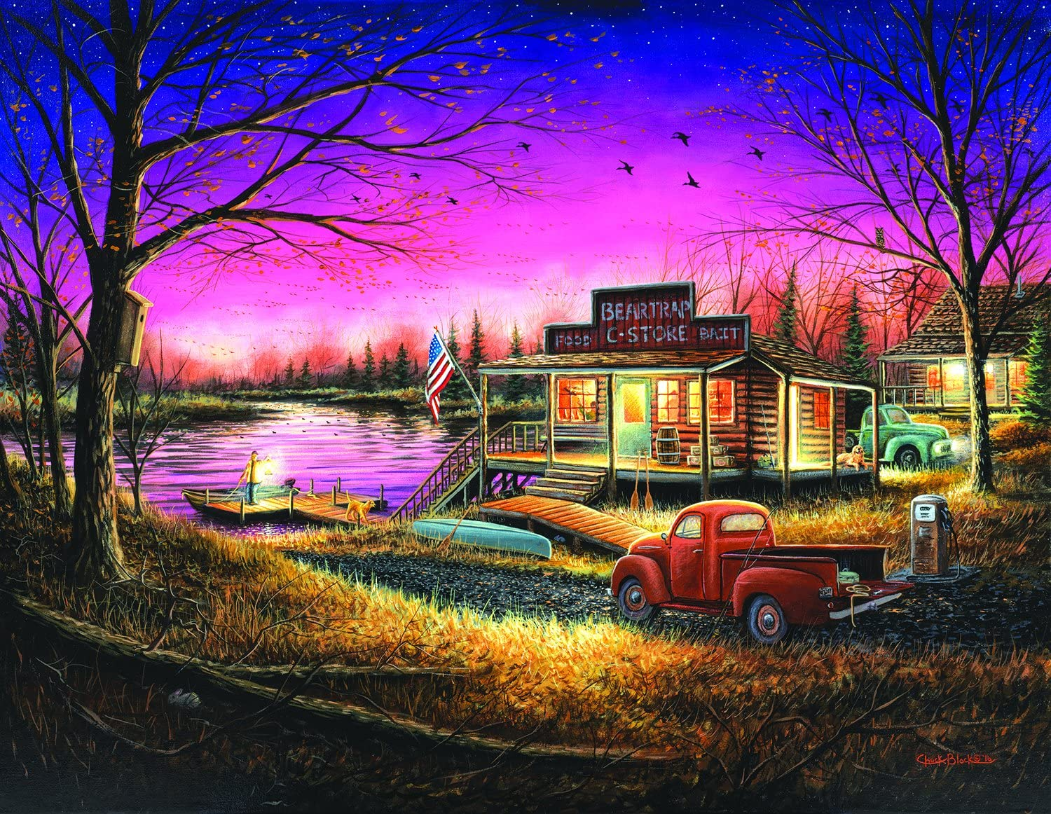 A Perfect Evening (Large Piece) 1000 Piece Jigsaw Puzzle by SunsOut