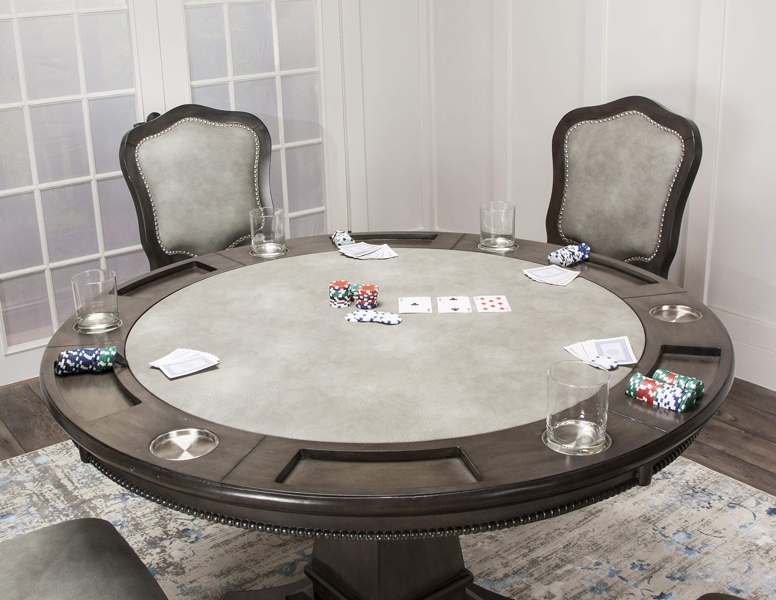 Sunset Trading Cr 87711 5pc Vegas Dining Poker Table Set