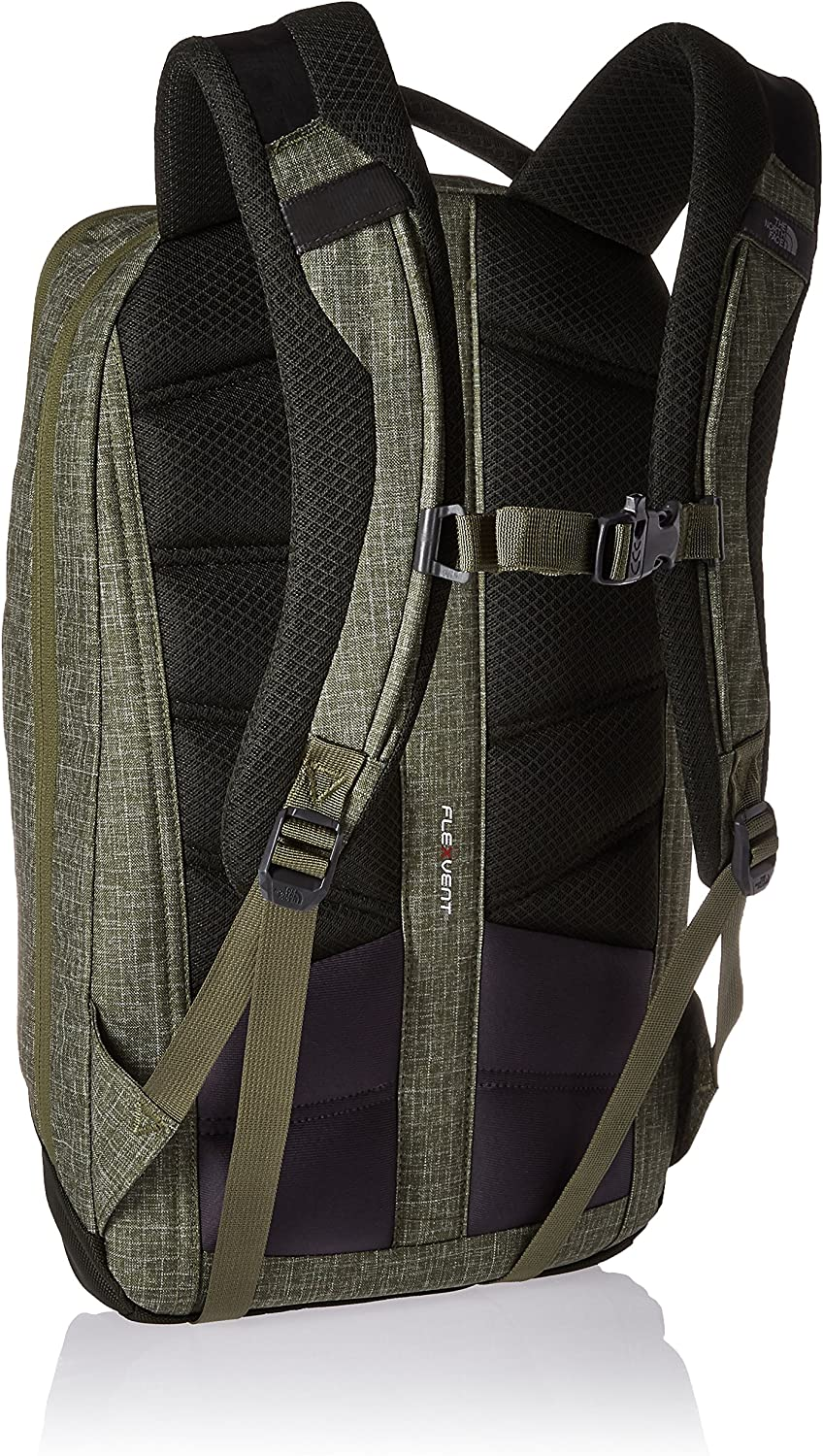 The North Face Microbyte Backpack Terrarium Green Heather Rosin Green
