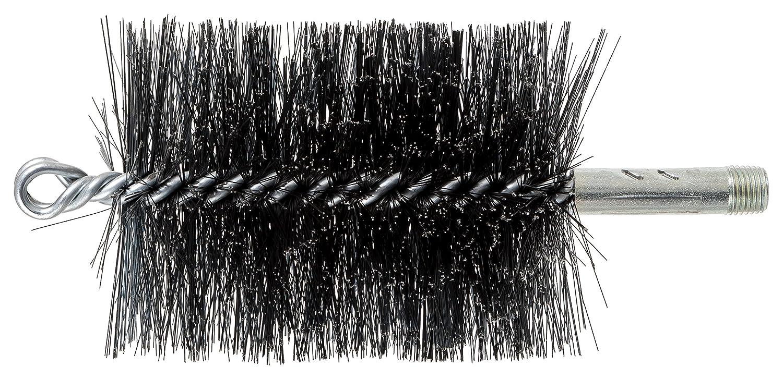 0.012 Carbon Steel PFERD 89658 3 Double Spiral Flue Brush 4-1//2 Brush Part Length 2-3//4 OD