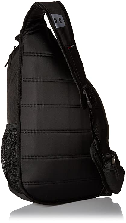 detailed look 4e47e f61b4 Under Armour Compel Sling 2.0 Backpack, Black (001), One Size, Backpacks - Amazon  Canada