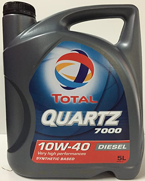 Total Diésel Quartz 7000, Aceite de Motor 10 W-40, ...