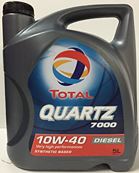 Total TO7D10405 Quartz 7000 D. 10W40 A3/B4 5L, 5 L: Amazon.es: Coche y moto