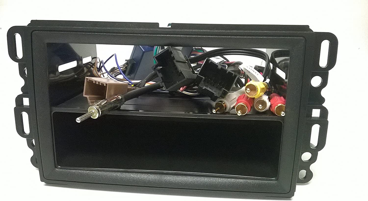 2006, 2007, 2008, 2009, 2010, 2011 Lucerne Dash kit and Wire Harness for Installing a New Double Din Radio into a Buick Enclave 08, 09, 10, 11, 12 ,