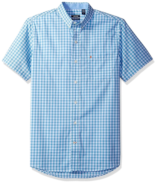 Izod Mens Advantage Performance Non Iron Stretch Short Sleeve Shirt IZOD Men' s Sportswear 45BW738