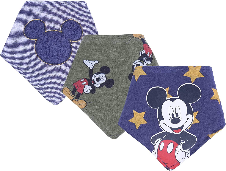 3 x bavette Mickey Mouse DISNEY