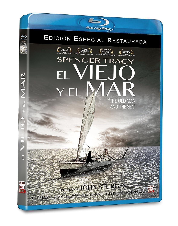 El Viejo y el Mar BD 1958 The Old Man and the Sea Blu-ray: Amazon ...