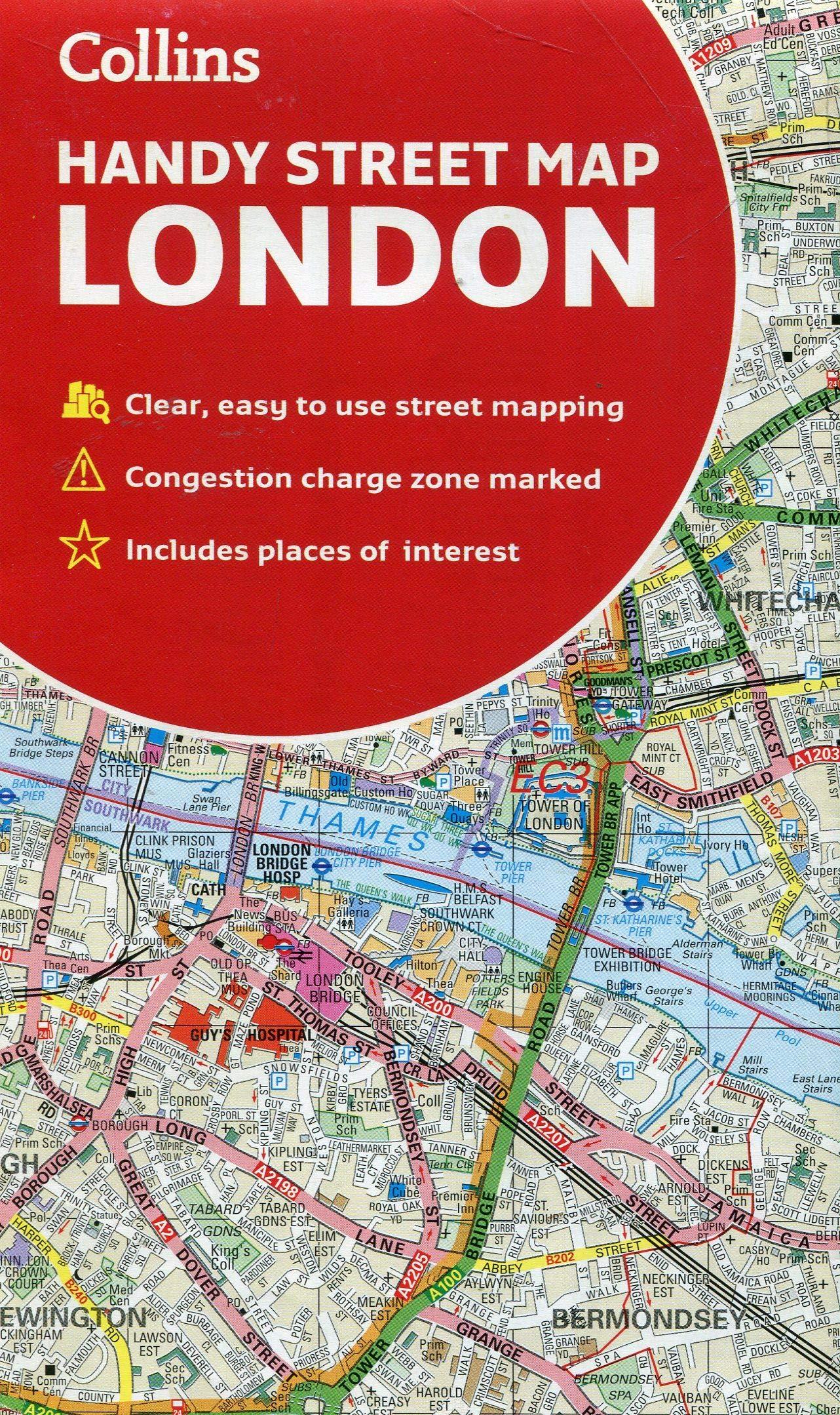 Collins London Handy Street Map por Collins Maps