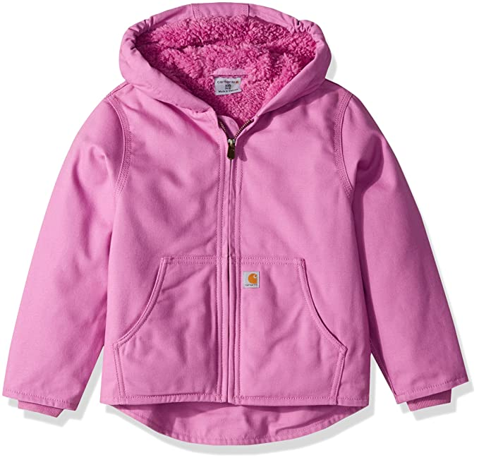 57d8984ee51c Carhartt Big Girls  Redwood Jacket Sherpa Lined