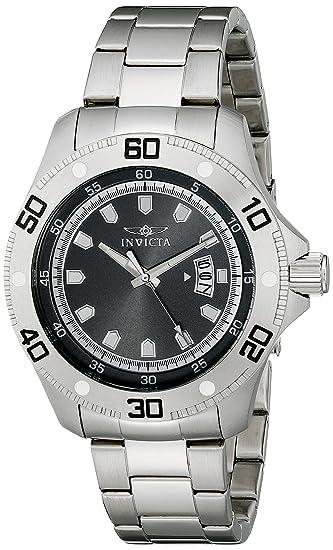 Invicta 19263 Pro Diver Reloj para Hombre acero inoxidable Cuarzo Esfera negro: Amazon.es: Relojes