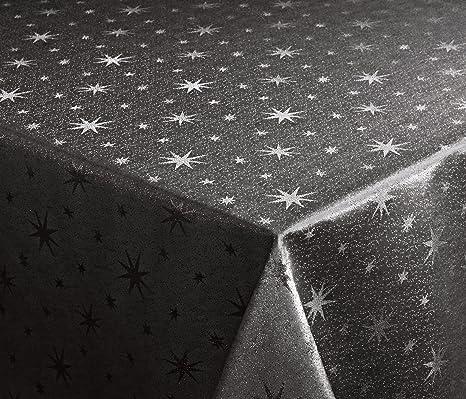 Lurex Tischdecke Eckig 130x220 cm,Weihnachtstischdecke Farbe und Größe wählbar