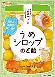 カンロ うめシロップのど飴 70g×6袋