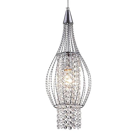 Crystal pendant lighting 1 light chrome chandeliers kitchen island crystal pendant lighting 1 light chrome chandeliers kitchen island ceiling light fixtures aloadofball Gallery