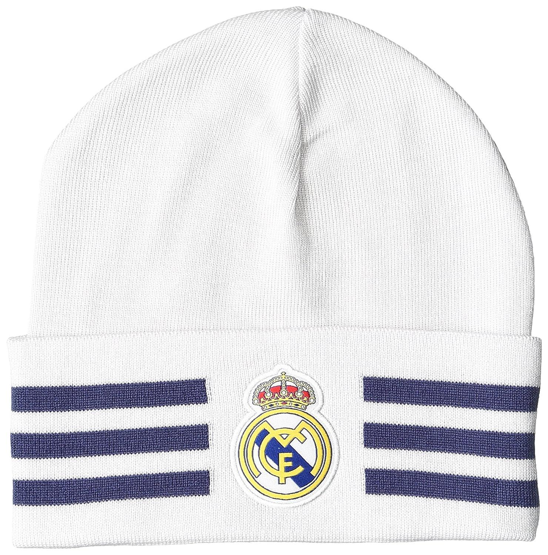 adidas Real Madrid 3S Woolie Gorra, Hombre, Naranja (Balcri/Mornat), OSFY: Amazon.es: Deportes y aire libre