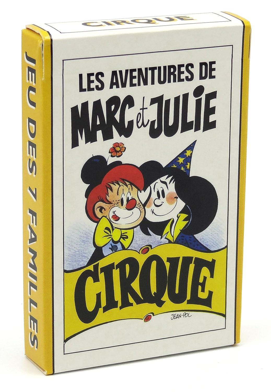 Juego de 42 cartas : 7 familias Marc et Julie : Cirque ...