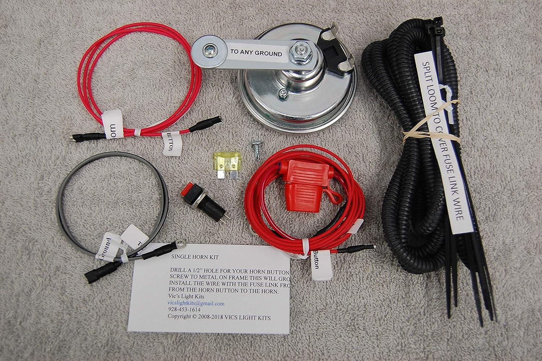 SXS//UTV Can-Am Defender /& Maverick X3 2//4 Seater LED Turn-Signal Kit w//HORN