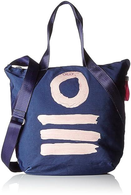 Fun Nylon Shopper Lvz, Womens Shoulder Bag, Pink, 10x38x32 cm (B x H T) Oilily