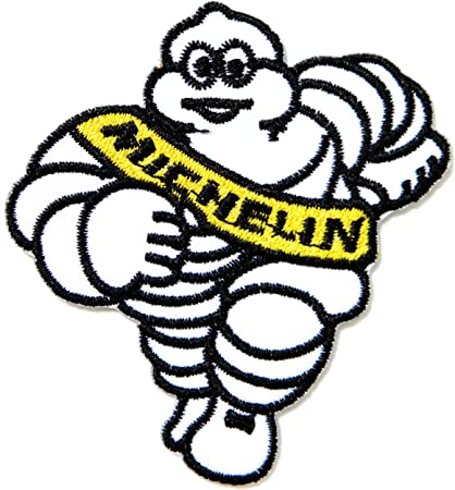 MICHELIN Man Tires Sponsor Car logo embroidered Iron//Sew On Patch