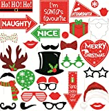 Syga Christmas Party Photo Booth Props - Set Of 31