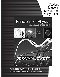Amazon principles of physics a calculus based text volume 1 student solutions manual with study guide for serwayjewetts principles of physics a calculus fandeluxe Images
