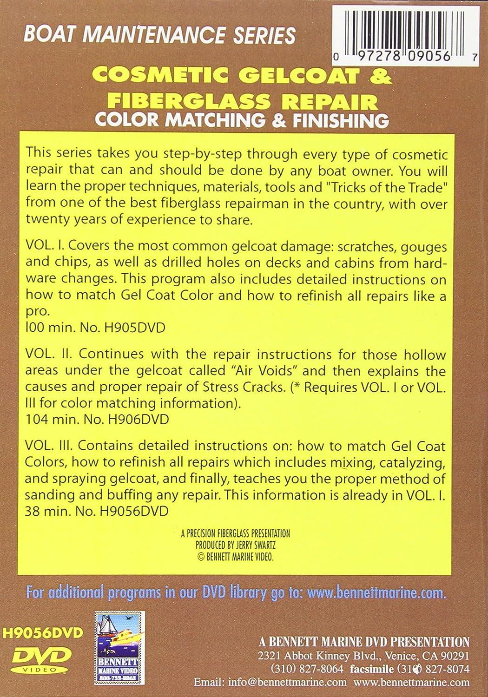 Amazon com: Cosmetic Gelcoat & Fiberglass Repair: Color Matching