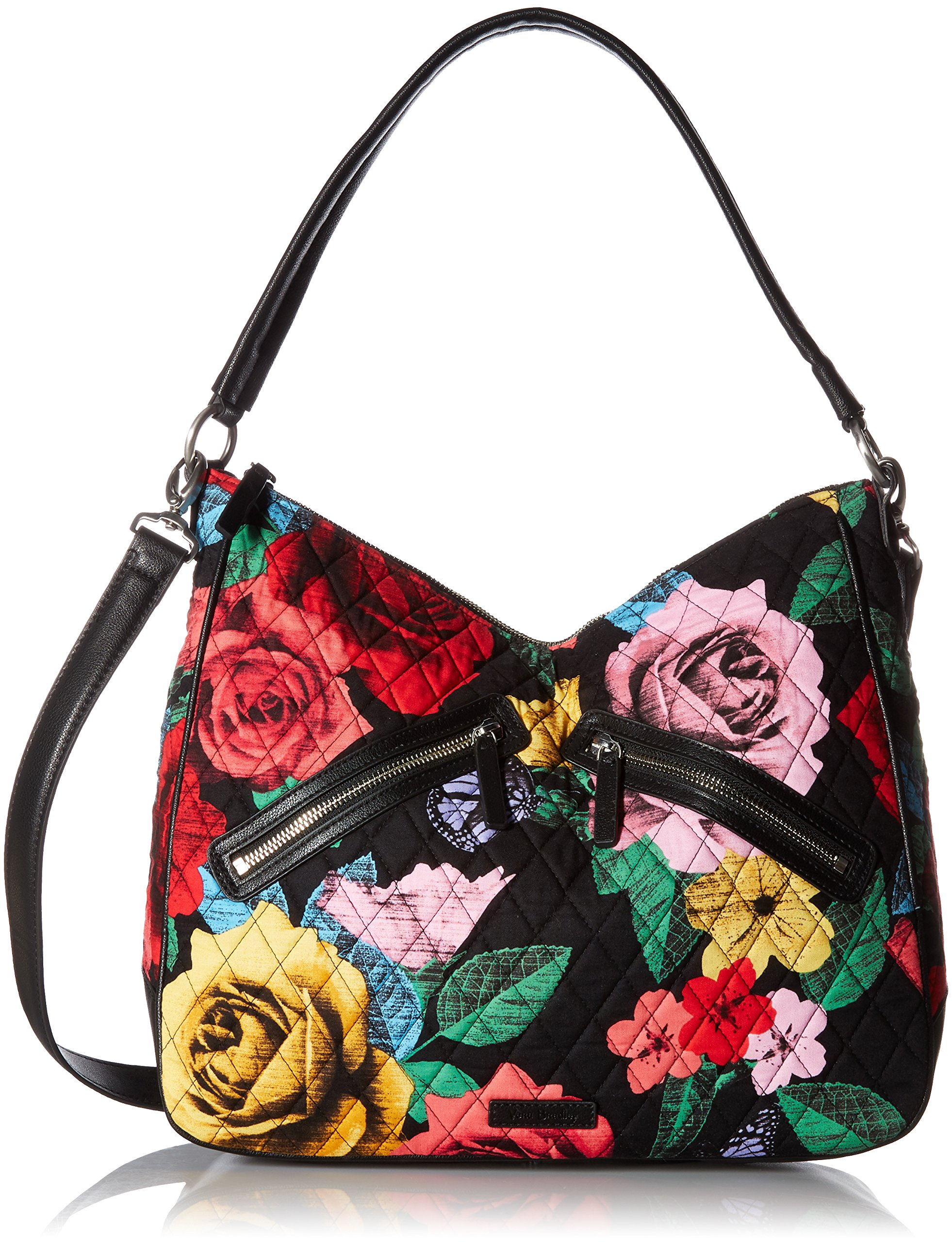 Vera Bradley Vivian Hobo Bag Cotton 1, Havana Rose