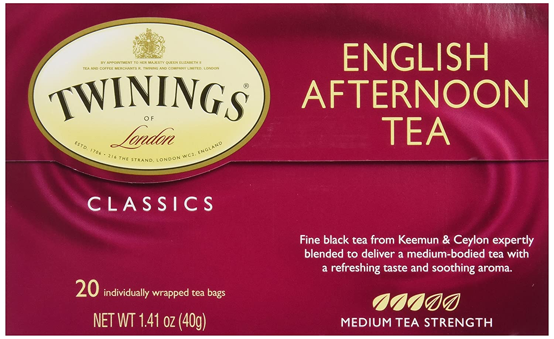 Twinings Tea English Afternoon Tea, 20 ct