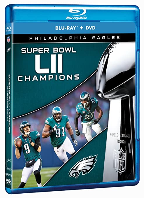 Amazon.com  NFL Super Bowl LII Champions  The Philadelphia Eagles COMBO   Blu-ray   The Philadelphia Eagles 7122643eb