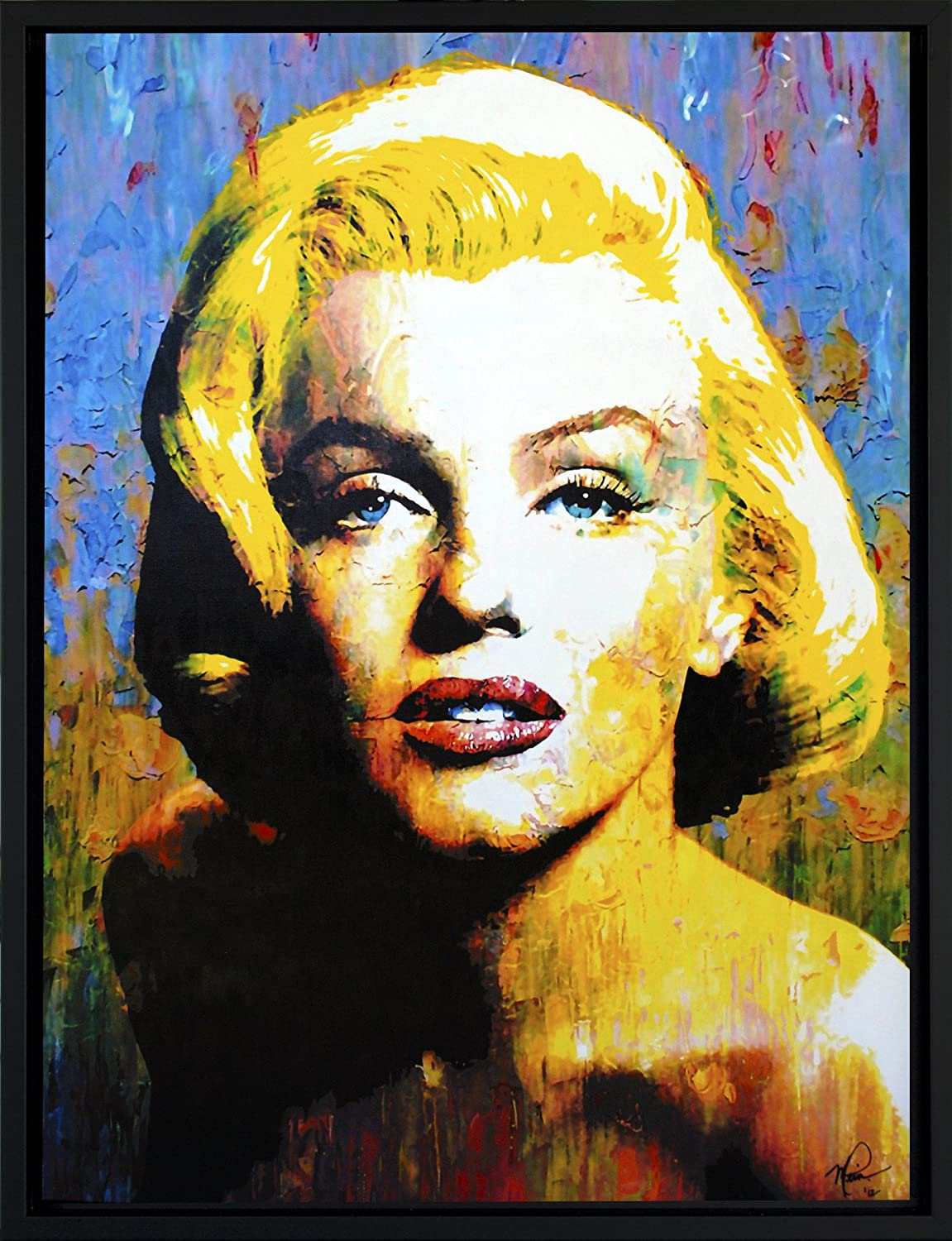 Generous Marilyn Monroe Canvas Wall Art Contemporary - The Wall Art ...
