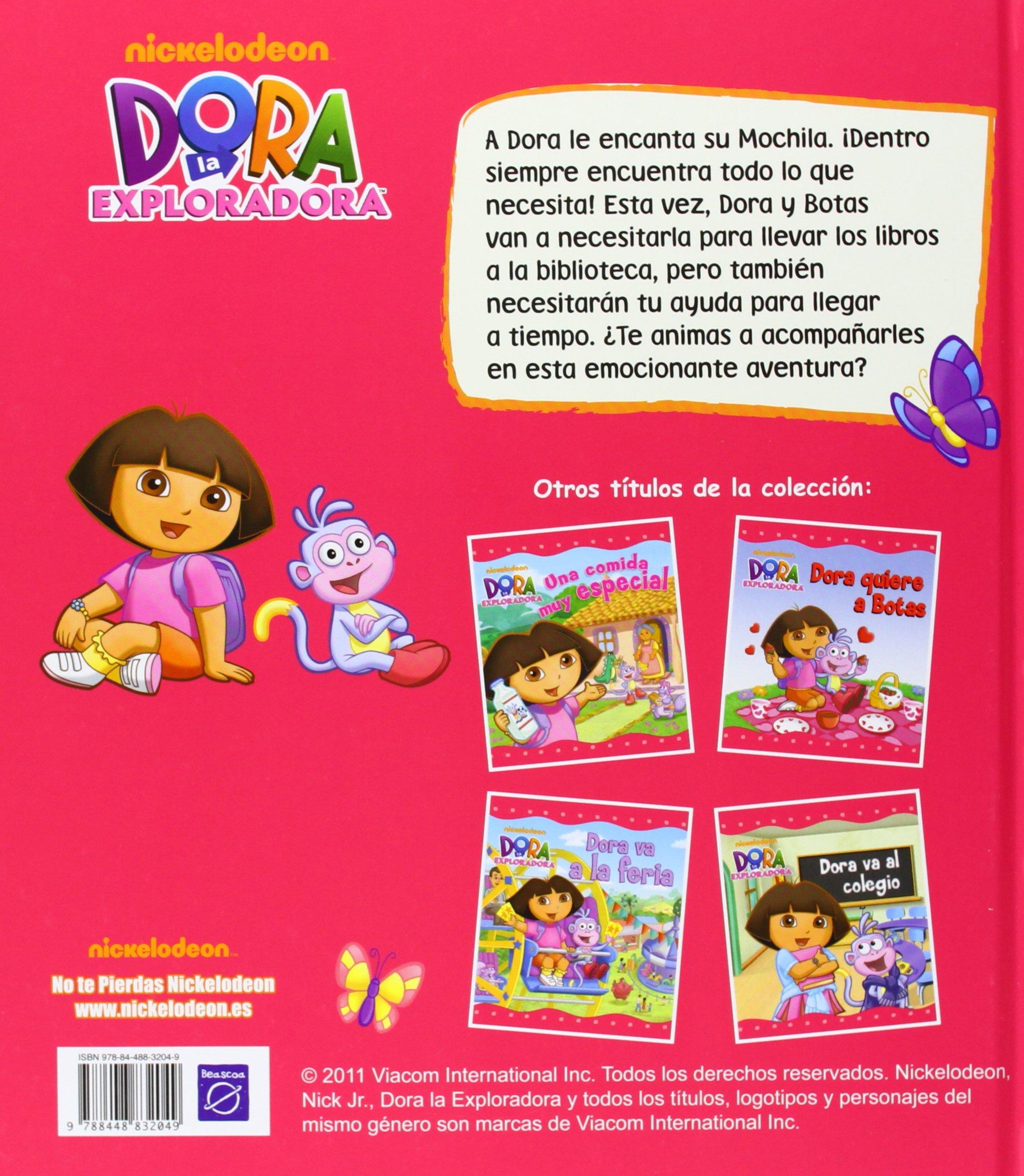 La mochila de Dora (Dora la Exploradora): Nickelodeon: 9788448832049: Amazon.com: Books
