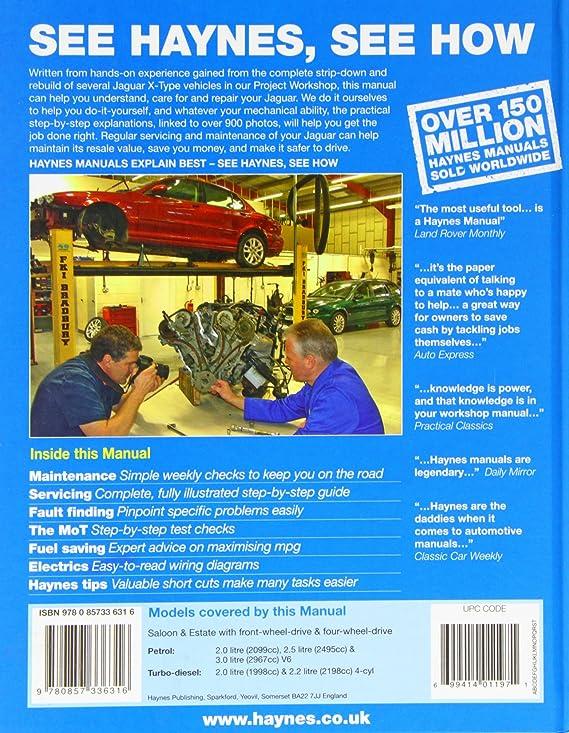 Diesel car maintenance tips user manuals car maintenance array jaguar x type petrol u0026 diesel service and repair manual 2001 2011 rh amazon fandeluxe Choice Image