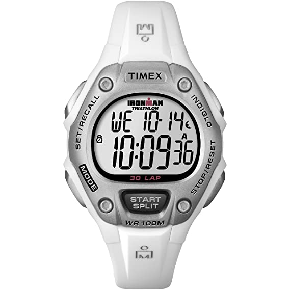 Timex Reloj Mujer de Digital con Correa en Resina T5K5159J ...