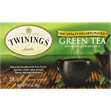 Twinings Green Tea, Green Decaf, 20 Count Bagged Tea (6 Pack)