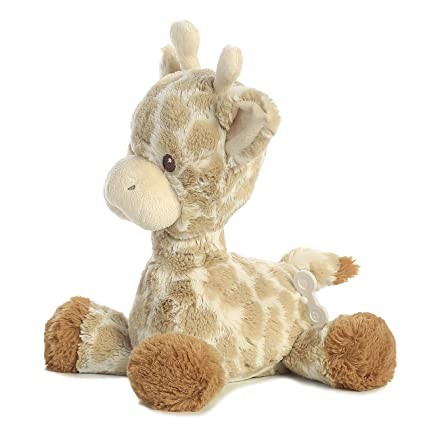 Amazon Com Aurora World Baby Loppy Giraffe Musical Plush 11 5