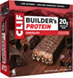 CLIF BUILDER'S - Protein Bar - Chocolate - (2.4 Ounce Non-GMO Bar, 6 Count)
