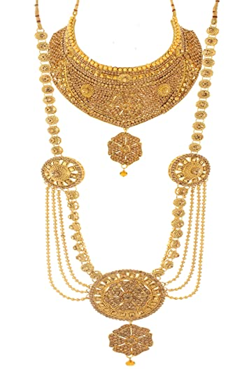 Buy Bling N Beads Bridal Collection 18K Gold Plated Wedding