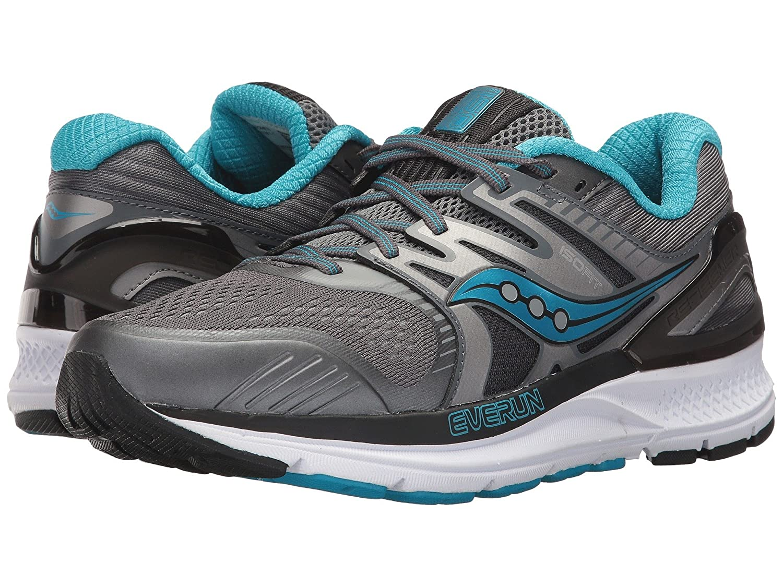 高級素材使用ブランド [SAUCONY(サッカニー)] (23.5cm) レディースランニングシューズスニーカー靴 Redeemer - ISO 2 D [並行輸入品] B07KWQG424 Grey/Black/Blue 7 (23.5cm) D - Wide 7 (23.5cm) D - Wide Grey/Black/Blue, ナカヘチチョウ:e834d028 --- senas.4x4.lt