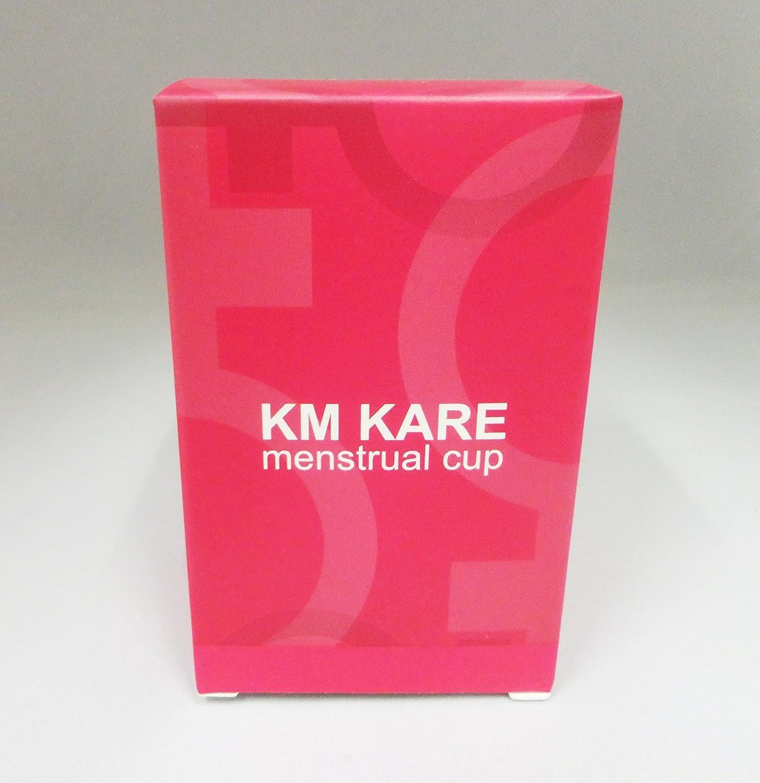 KM Kare Menstrual Vasos Conjunto de 2 con Libre Bolsa – Grande y pequeño tamaño – Mejor Alternativa protección para tampones y Gamuza servilletas ...