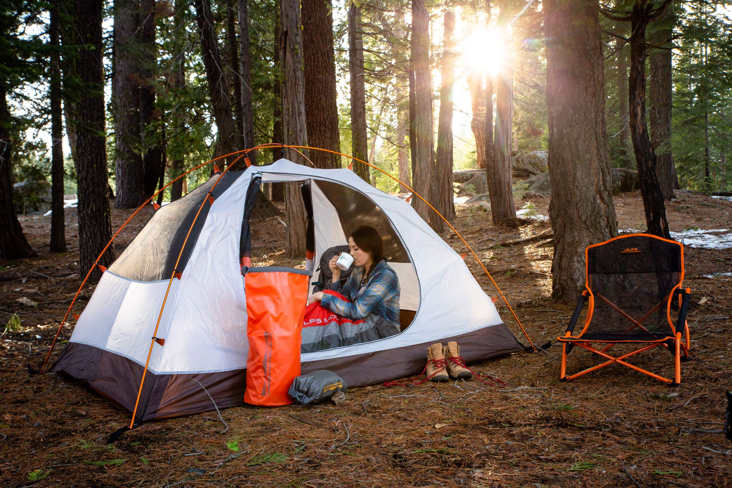 ALPS Mountaineering Lynx 4-Person Tent, Clay/Rust by ALPS Mountaineering (Image #9)